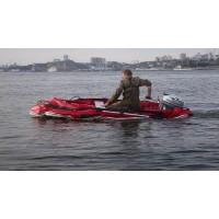 Краш тест лодок ПВХ Stormline на воде