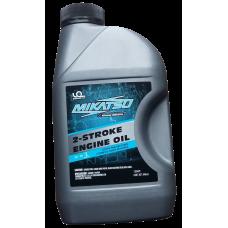 Моторное масло 2-тактное Mikatsu TC-W3 1 л. для лодочных моторов