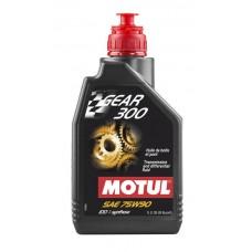 Трансмиссионное масло MOTUL Gear 300 75W90 (1 л. квадроциклы)