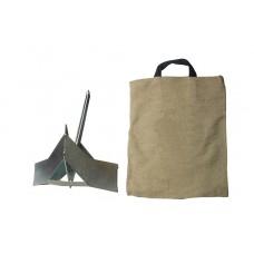 Якорь Ковш-4 оцинкованный в сумке