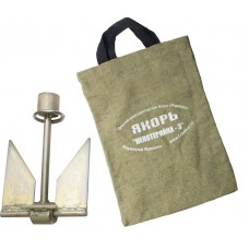 Комплект Якорь Непотеряйка-3 оцинкованный в сумке